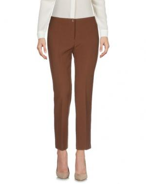 Повседневные брюки MARCELLO SANGIORGI. Цвет: коричневый