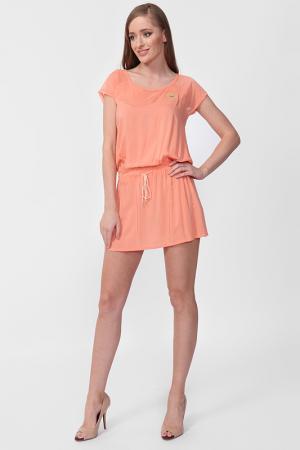 Платье Relax Mode. Цвет: оранжевый