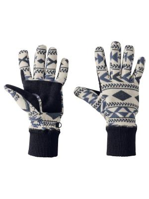 Перчатки HAZELTON GLOVE W Jack Wolfskin. Цвет: темно-синий