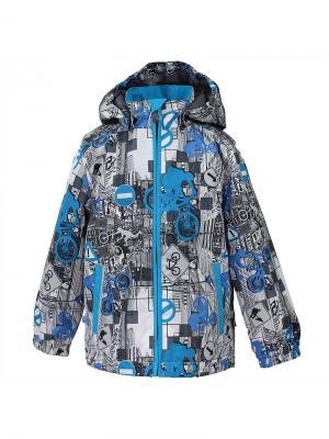Куртка для детей JODY HUPPA. Цвет: голубой, белый