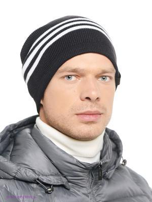 Шапка  TIRO BEANIE Adidas. Цвет: черный, белый