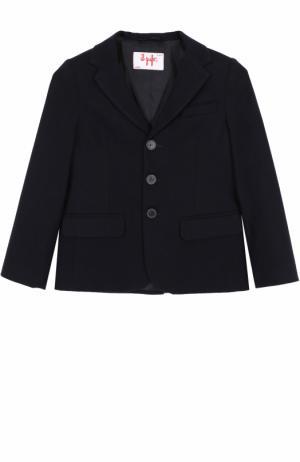 Однобортный пиджак Il Gufo. Цвет: синий
