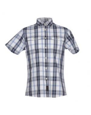 Pубашка 40WEFT. Цвет: грифельно-синий