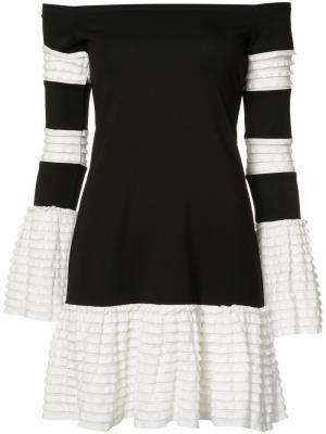 Платье Miggy Alexis. Цвет: чёрный
