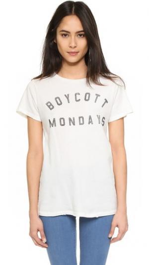 Футболка Boycott Mondays Prince Peter. Цвет: молочный