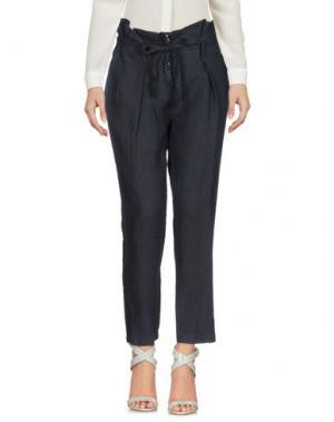 Повседневные брюки GIORGIA & JOHNS. Цвет: темно-синий