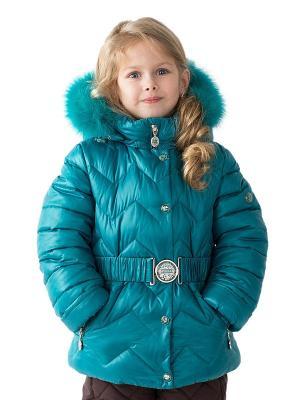 Куртка Pulka. Цвет: бирюзовый