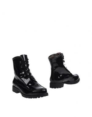 Полусапоги и высокие ботинки GABRIELE. Цвет: черный
