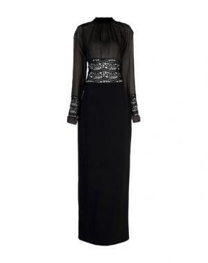Длинное платье TOM FORD. Цвет: черный