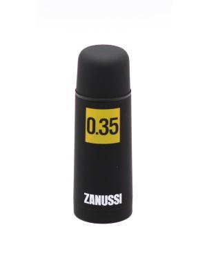 Термос черный 0,35 л Zanussi. Цвет: черный