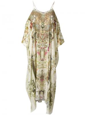 Платье-туника Gril In  Garden Camilla. Цвет: многоцветный