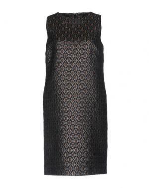 Короткое платье ROSSO35. Цвет: стальной серый