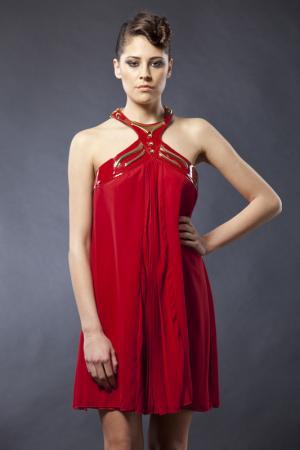 Платье Gizia. Цвет: красный