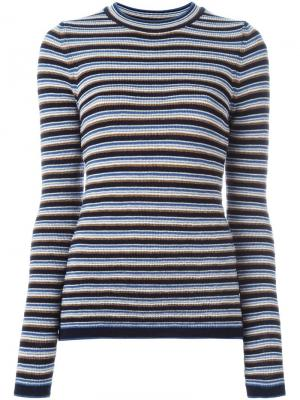 Полосатый свитер Moonstone Mih Jeans. Цвет: многоцветный