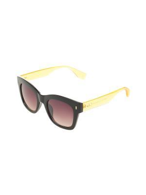 Солнцезащитные очки Gusachi. Цвет: черный