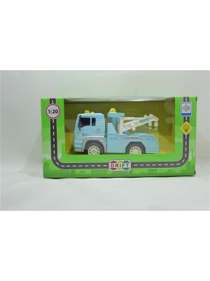 Машина грузовик-эвакуатор Drift. Цвет: голубой