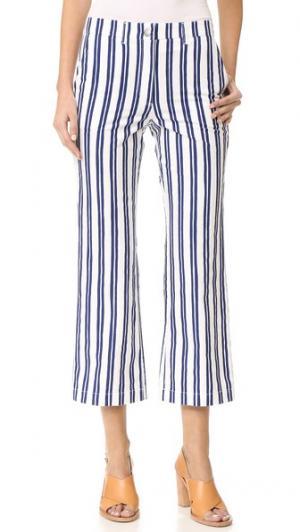 Расклешенные брюки Coler M.i.h Jeans. Цвет: финская полоска