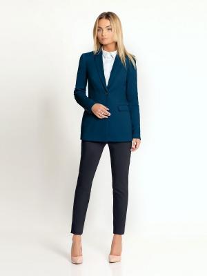 Пиджак PRIO. Цвет: лазурный