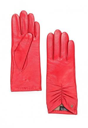 Перчатки Fabretti. Цвет: красный