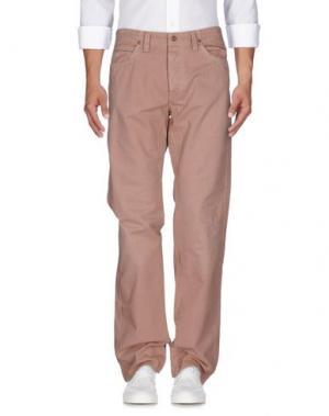 Джинсовые брюки JAGGY. Цвет: пастельно-розовый