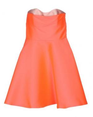 Короткое платье TARA JARMON. Цвет: фуксия