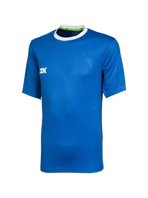 Футболка игровая Classic 2K. Цвет: синий, белый