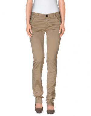 Повседневные брюки MAGAZZINI DEL SALE. Цвет: песочный
