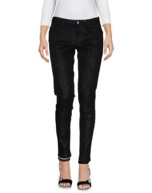 Джинсовые брюки BLUE LES COPAINS. Цвет: черный