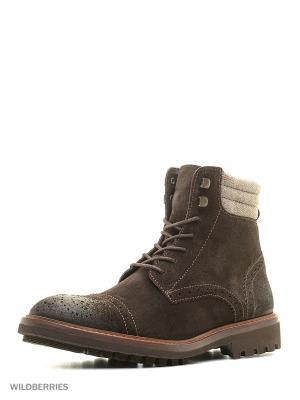 Ботинки Trussardi. Цвет: коричневый