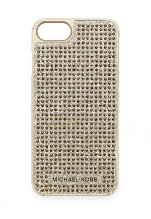 Чехол для iPhone Michael Kors. Цвет: золотой