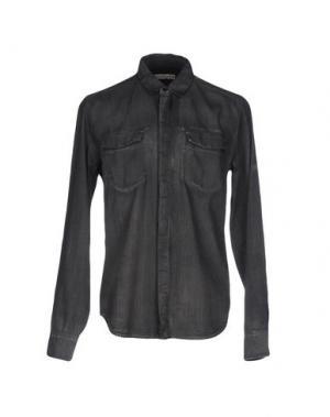 Джинсовая рубашка CALVIN KLEIN JEANS. Цвет: черный