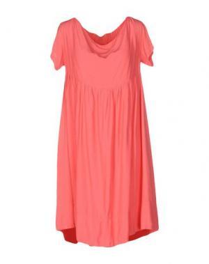 Короткое платье GUARDAROBA by ANIYE. Цвет: коралловый