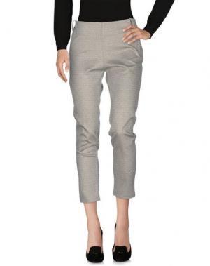 Повседневные брюки ECO. Цвет: светло-серый