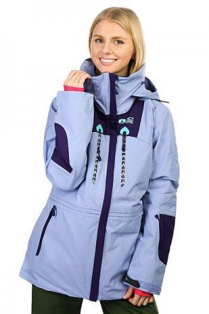 Куртка утепленная женская  Willow Light Purple Picture Organic. Цвет: фиолетовый