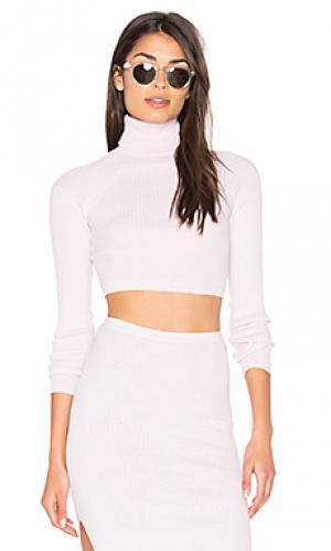 Укороченный свитер bria 360 Sweater. Цвет: бледно-лиловый