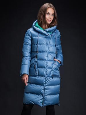 Куртка Clasna. Цвет: голубой