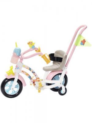 Игрушка BABY born Велосипед, дисплей ZAPF. Цвет: розовый