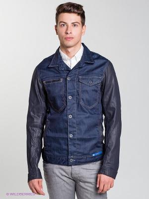 Куртка SAN Salsa. Цвет: темно-синий, черный