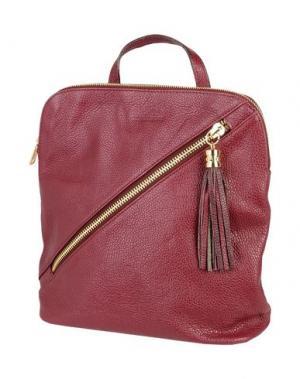Рюкзаки и сумки на пояс MANOUKIAN. Цвет: красно-коричневый