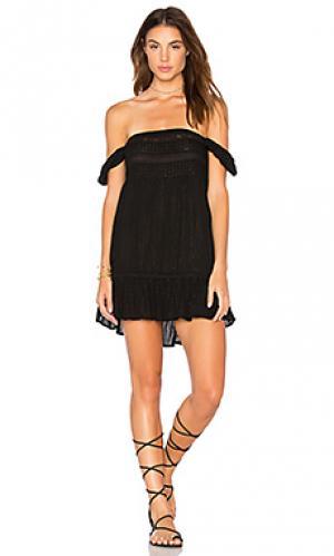 Мини платье isabella AUGUSTE. Цвет: черный