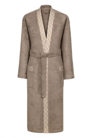 Халат Милан CLASSIC BY T. Цвет: коричневый