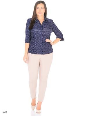 Блузка, модель Юлия Dorothy's Home. Цвет: синий, белый
