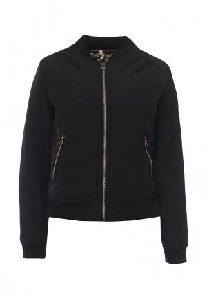 Куртка утепленная Stella Morgan. Цвет: черный