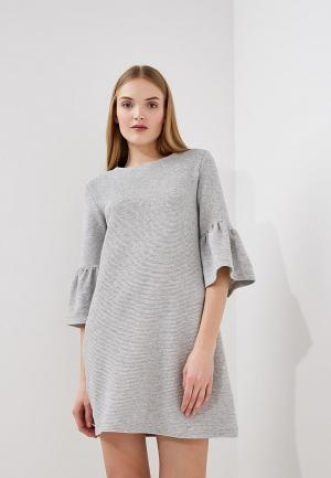 Платье French Connection. Цвет: серый