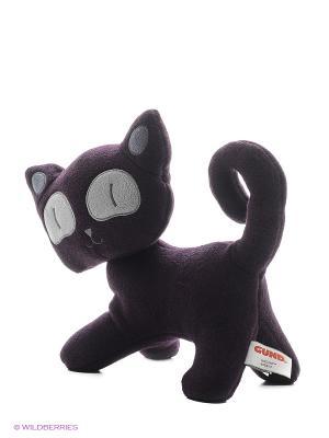 Игрушка мягкая (Hasumi Cat, 25,5 см). Gund. Цвет: коричневый