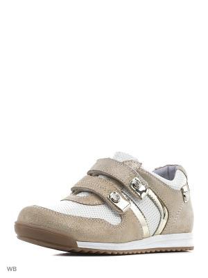 Ботинки ELEGAMI. Цвет: золотистый