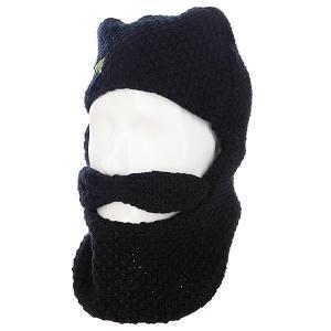 Шапка с бородой  Camp Counselor Black Creature. Цвет: черный