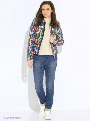 Куртка GEOX. Цвет: синий, желтый, зеленый, красный