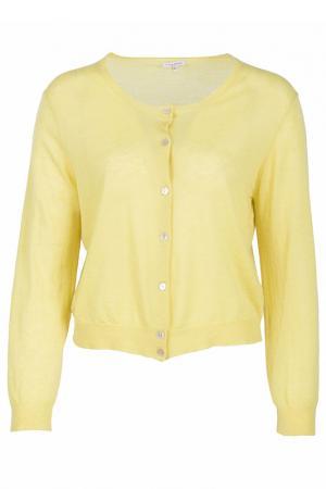 Кардиган P.A.R.O.S.H.. Цвет: желтый