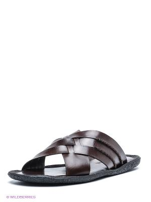 Пантолеты Mario Ponti. Цвет: коричневый